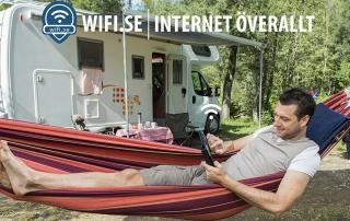Fast wifilösning för campingfordon