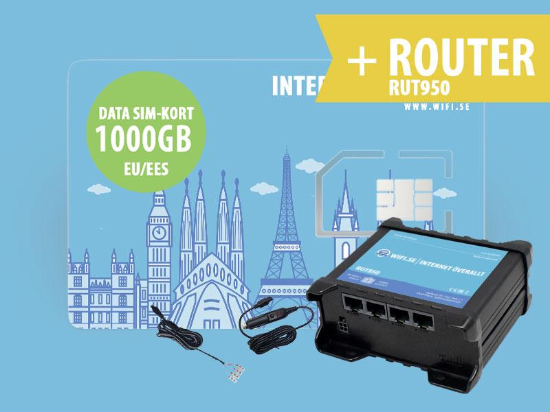 Avancerad router 950